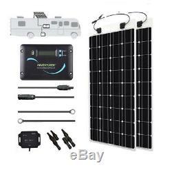 Renogy 200-Watt 12-Volt Monocrystalline Solar RV Kit for Off-Grid Solar System