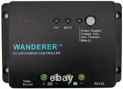 Renogy 200 Watt 12 Volt Monocrystalline Solar Starter Kit & 30A charge controlle