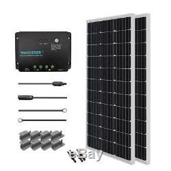 Renogy 200-Watt 12-Volt Monocrystalline Solar Starter Kit for Off-Grid Solar