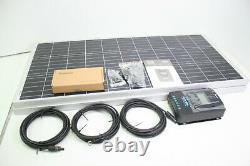 Renogy 200 Watt 12 Volt Monocrystalline Solar Starter Kit w Charge Controller