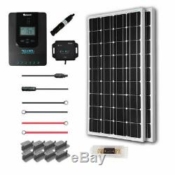 Renogy 200 Watt 12 Volt Solar Starter Kit 2 x 100 mono panels