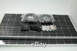 Renogy 200 Watts 12 Volts Monocrystallin Panel Solar RV Kit MISSING CONTROLLER