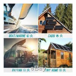 Renogy 200 Watts 12 Volts Monocrystalline Solar Bundle Kit With 100W Solar Panel, 3