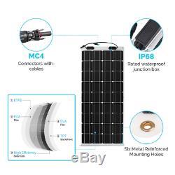 Renogy 248° Flexible 100W Watt 12 Volt Flexible Mono Solar Panel 100W RV Camping