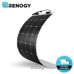 Renogy 248° Flexible 100W Watt 12 Volt Flexible Mono Solar Panel Boat RV Camping