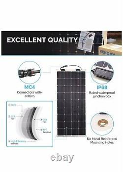 Renogy 248° Flexible 175W Watt 12 Volt Flexible Mono Solar Panel 175W PV Power