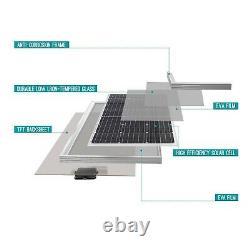 Renogy 2pcs 100 Watt 12 Volt Monocrystalline Solar Panel (Compact Design) Ide