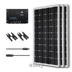 Renogy 300 Watt 12 Volt Monocrystalline Solar Bundle Kit