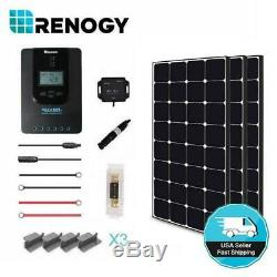 Renogy 300-Watt 12-Volt Off-Grid Eclipse Solar Premium Kit