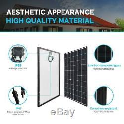 Renogy 300-Watt 24-Volt Monocrystalline Solar Panel (2-Piece)