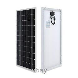 Renogy 400 Watt 12 Volt Monocrystalline Solar Starter Kit Black