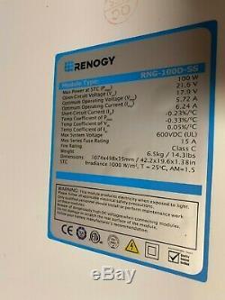 Renogy 400 Watt 12 Volt Monocrystalline Solar Starter Kit with 40A Rover MPPT Ch