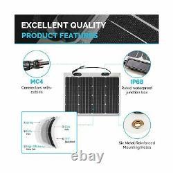 Renogy 50 Watt 12 Volt Extremely Flexible Monocrystalline Solar Panel Ultra