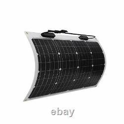 Renogy 50 Watt 12 Volt Extremely Flexible Monocrystalline Solar Panel with ETFE