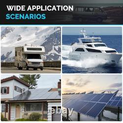 Renogy Battery Deep Cycle AGM 12-Volt 200Ah Solar Panels System
