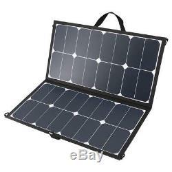 Renogy Eclipse 50-Watt 12-Volt Monocrystalline Solar Panel RV Boat Solar System