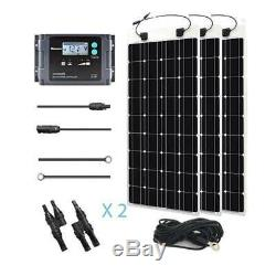 Renogy Flexible 300 Watt 12 Solar Panel Volt Solar Marine Temperature Sensor Kit