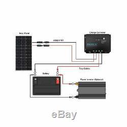 Renogy Monocrystalline Solar Starter Kit 100 Watts 12 Volts Aluminum Frame New