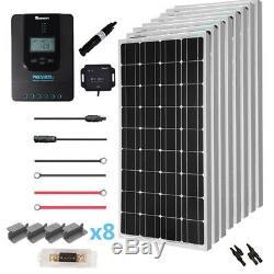 Renogy New 800 Watt 24 Volt Solar Premium Kit Monocrystalline or Eclipse