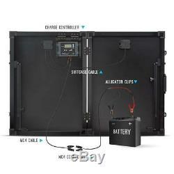Renogy Portable Solar Power Kit 12-Volt Monocrystalline Silicon 1-Panel Outdoor