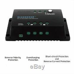 Renogy RNG-100D 200 Watt 12 Volts Monocrystalline Solar Panel Bundle