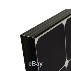 Renogy RNG-100MB Eclipse 100 Watt 12 Volt Monocrystalline Solar Panel