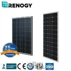 Renogy Rigid 100W Watt Mono Solar Panel 100W 12V Volt Off Grid PV Power Camping
