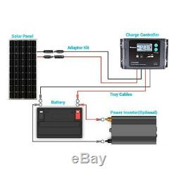Renogy Solar Panel 100-Watt 12-Volt Corrosion-Resistant Aluminum Frame