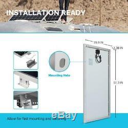 Renogy Solar Panel 12-Volt 160-Watt Corrosion-Resistant Aluminum Frame