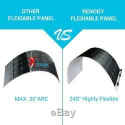 Renogy Solar Panel 160-Watt 12-Volt Extremely Flexible Monocrystalline Silicon