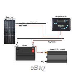 Renogy Solar Panel 160-Watt 12-Volt Flexible Lightweight Corrosion Resistant