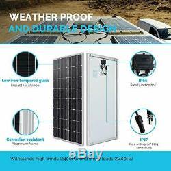 Renogy Solar Panel 160 Watt 12 Volt Monocrystalline 160W Mono