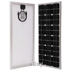 Richsolar 100 Watt 12 Volt Monocrystalline Solar Panel with MC4 Connectors 12