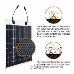Richsolar 80 Watt 12 Volt Extremely EFTE Flexible Monocrystalline Solar Panel