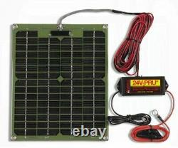 SP-24PSC PulseTech Solar Panel 24-Volt Battery Charger Desulfator