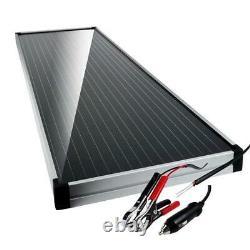 Schumacher Solar Battery Charger/Maintainer Car 12-Volt 15-Watt Charge Control
