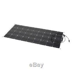 Solar 120 Watt 12 Volt Mono Flexible Bendable Solar Panel RV Boat LOT US