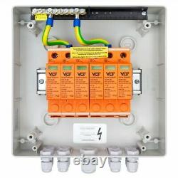 Solar Anschlusskasten DC 1000V T2 PG 2x VCX T1/T2 2-String Doktorvolt 2452