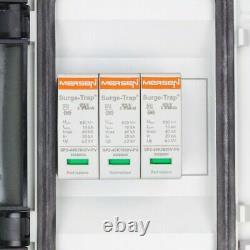 Solar Anschlusskasten PV DC 1000V 1x T2 Mersen 1-String PG IP65 Doktorvolt 4340