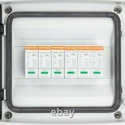 Solar Anschlusskasten PV DC 1000V 2x Mersen T2 2-String PG Doktorvolt 4425