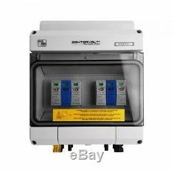 Solar Anschlusskasten PV DC 1000V T1 T2 40kA 2-Strings MC4 IP65 Doktorvolt 4593