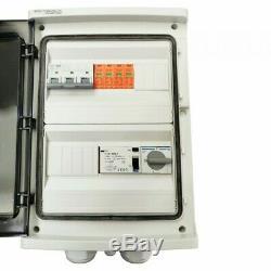 Solar Anschlusskasten Photovoltaik 80A AC 24-Module Doktorvolt 1394