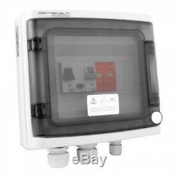 Solar Anschlusskasten Photovoltaik AC 20A Überspannungsschutz Doktorvolt