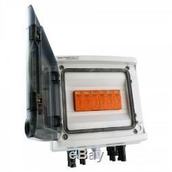 Solar Anschlusskasten Photovoltaik DC 4-strings Überspannungsschutz Doktorvolt