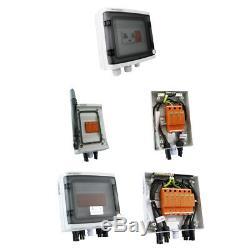 Solar Anschlusskasten Photovoltaik Überspannungsschutz DC / AC Doktorvolt