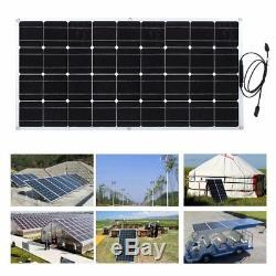 Solar Cynergy 120 Watt 12 Volt Mono Flexible Bendable Solar Panel RV Boat LOT BP