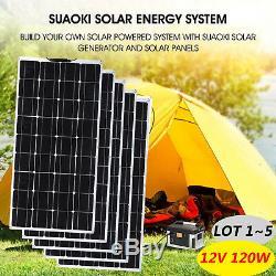 Solar Cynergy 120 Watt 12 Volt Mono Flexible Bendable Solar Panel RV Boat LOT MX