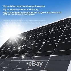 Solar Cynergy 160 Watt 18 Volt Mono Flexible Bendable Solar Panel RV Boat US-MA