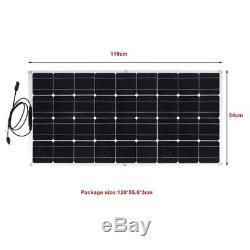Solar Cynergy 160 Watt 18 Volt Mono Flexible Bendable Solar Panel RV Boat US-OY