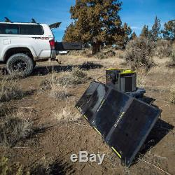 Solar Generator Kit Nomad 100 Panel 1045Wh Lithium 12 Volt Battery Back Up 4 USB